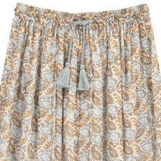 Louis Louise Carmen Lurex Cashmere Printed Long Skirt-product