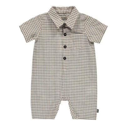 Imps & Elfs Organic Cotton Checked Playsuit-product