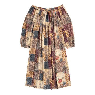 Swildens Qirck Patchwork Dress with Belt-product