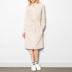 Swildens Qixia Striped Shirt Dress-listing