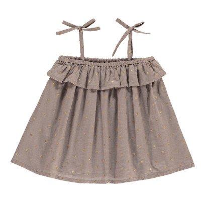 Bonnet à pompon Robe Pois Lurex-listing