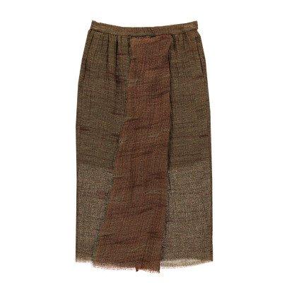 Masscob Linen Maxi Skirt-listing