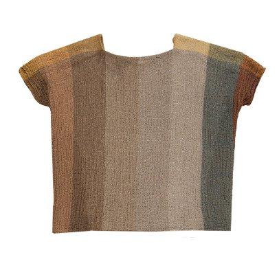 Masscob Linen Striped Sleeveless Top-listing