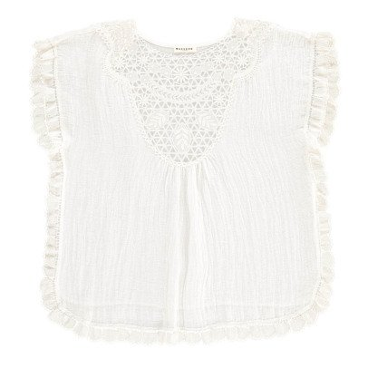Masscob Embroidered Linen Top-listing