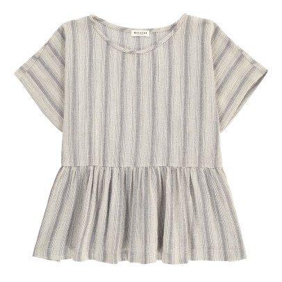 Masscob Gestreifte Bluse aus Baumwolle -listing