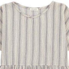 Masscob Striped Cotton Blouse-listing