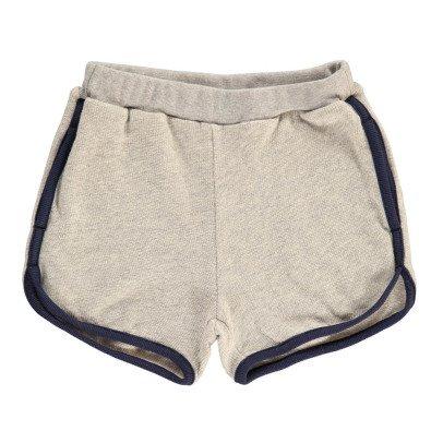 ARCH & LINE Fleece Trim Shorts-listing