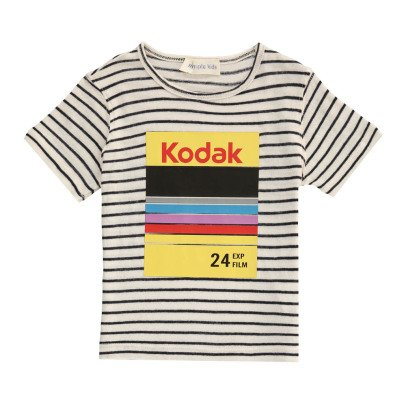Simple Kids T-shirt Rigata-listing
