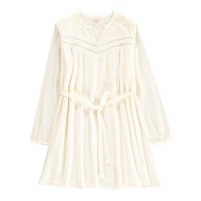 Swildens Teen Robe Crêpon Ajourée Qava-listing
