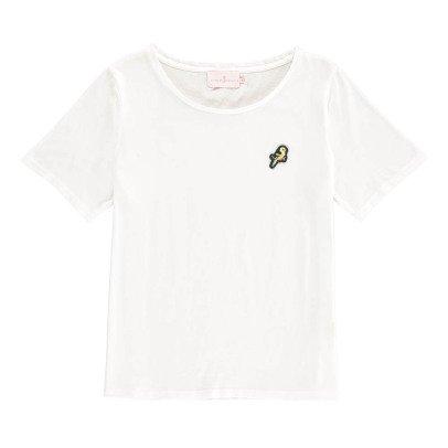 Cuisse de Grenouille Caillette Bird Patchwork T-Shirt-listing