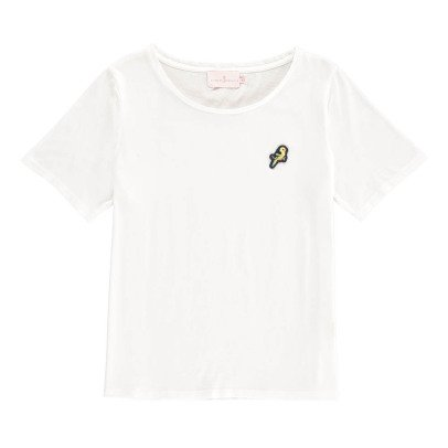 Cuisse de Grenouille T-Shirt Patch Oiseau Caillette-listing