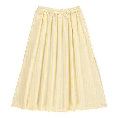 Cuisse de Grenouille Clarinette Striped Long Sleeve Skirt-listing