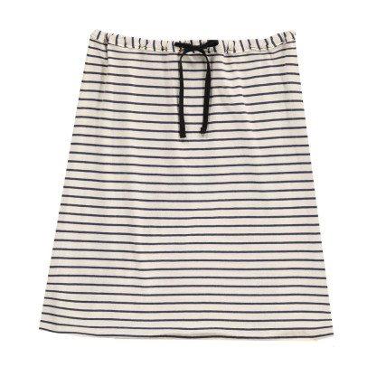 Babe & Tess Striped Maxi Skirt-listing