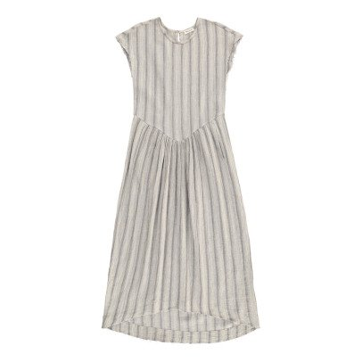 Masscob Cotton Striped Maxi Dress-listing