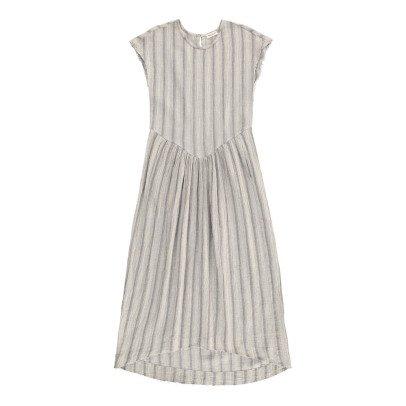 Masscob Cotton Striped Maxi Dress-listing