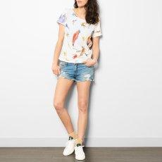G.KERO T-Shirt Allover Vogel -listing