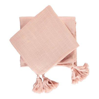Moumout Juego de cama en muselina de algodón-listing