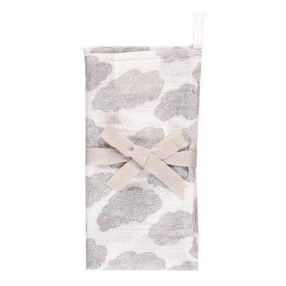 Moumout Manta en muselina de algodón 70x70 cm Nubes-listing