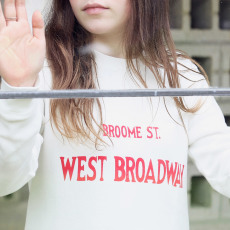 "Swildens Teen Sweatshirt ""West Broadway"" Qolora-listing"