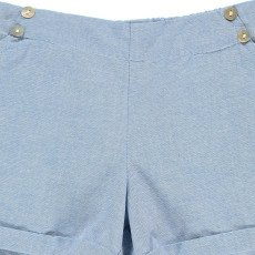 Lab - La Petite Collection Chambray Shorts-listing