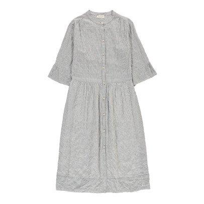 Masscob Striped Maxi Dress-listing