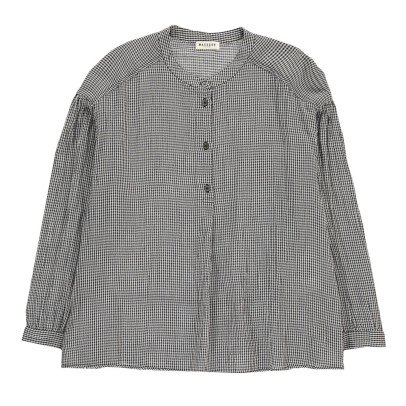 Masscob Checked Blouse-listing