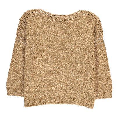 Masscob Pullover Jaspeado Cuello Redondo-listing