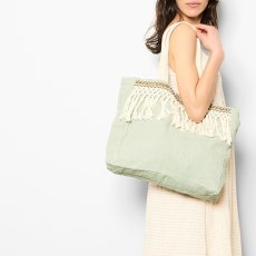 Louise Misha Breloque Linen and Cotton Bag - Women's Collection-listing