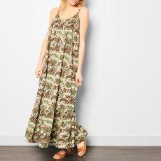 Soeur Sally Polka Dot Flower Maxi Dress-listing