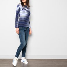 Maison Labiche T-shirt Righe Ricami Amazing-listing