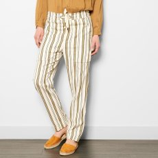 Laurence Bras Pantaloni Righe-listing