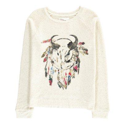 Leon & Harper Toro Embroidered Buffalo Sweatshirt-listing