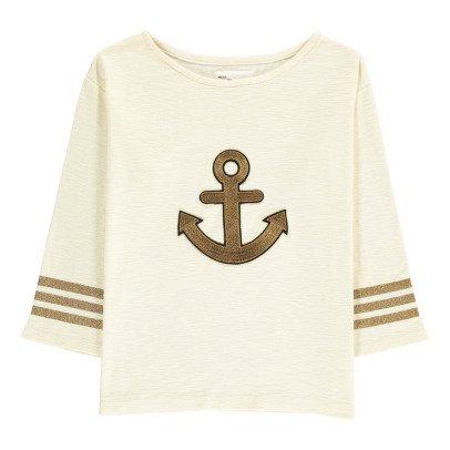 Leon & Harper Camiseta Ancla Bordada Lúrex Thil-listing
