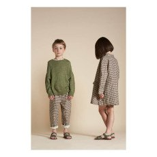 Caramel leinen Pullover Baby Alpaga Edamame-listing