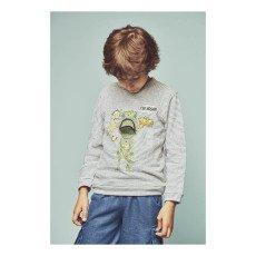 Milk on the Rocks Spike T-Rex Sweatshirt-listing