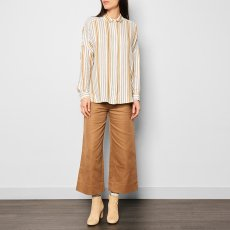 Sessun Darling Ma Striped Oversize Shirt-listing