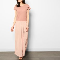 Pomandère Robe Longue Coton et Lin-listing
