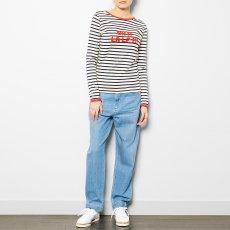 La Petite Française T-shirt Righe Mousse-listing