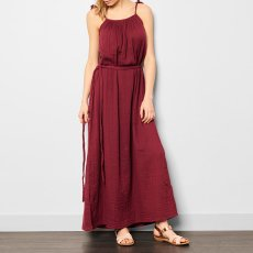Numero 74 Mia Maxi Dress - Teen and Women's Collection Raspberry red-product