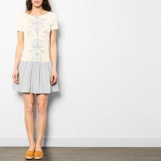 Blune Kleid Blumen -product