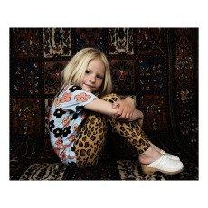 Mini Rodini Camiseta Leopardo Algodón Biológico-listing
