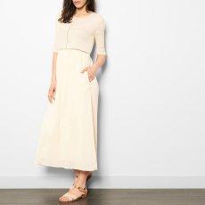 Pomandère Robe Longue Coton et Soie-listing