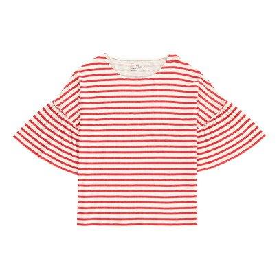 Leon & Harper Camiseta Rayas Volantes Tamy-listing