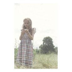 Atelier Barn Vestido Algodón Japonés Cuadros Sasha-listing