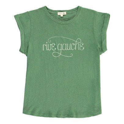 """Soeur T-Shirt aus Baumwolle und Leinen """"Rive Gauche"""" Valentin-listing"""