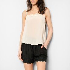 Louise Misha Julia Embroidered Silk Top - Women's Collection-product