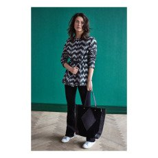 Beck Sönder Gaard Monbel Leather and Suede Shopper-listing