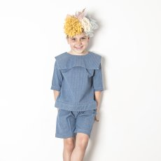 Yellowpelota Matrosenshirt Chambray -listing