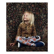 Mini Rodini Organic Cotton Flower Leggings-listing
