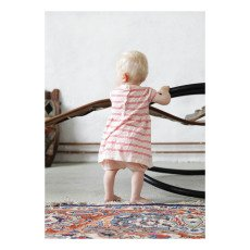 FUB Hemstitched Organic Cotton Striped Dress-listing